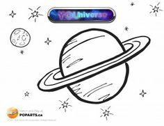 In celebration of YOUniverse airing today on TVOkids, we wanted to post our very first colouring page! Print off this sheet and show us what your planet would look like. Let your imagination take over!