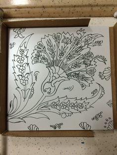 Zentangle Patterns, Tile Patterns, Craft Patterns, Pattern Art, Embroidery Art, Embroidery Patterns, Turkish Art, Turkish Design, Illumination Art