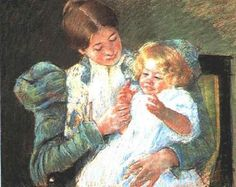 Pattycake - Mary Cassatt