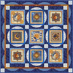 Celestial Sol Quilt Project