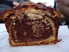 Marble loaf cake | via 3polkadots
