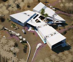 Alkhozama desert house