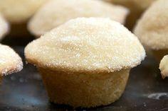 Sugar  Donut Muffins--they taste like a raised sugar donut! Put the coffee on kids:) YUM.