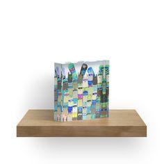 No Prob-Llama Alpaca My Board' Acrylic Block by amayabrydon Iphone Wallet, Iphone Cases, Floor Pillows, Throw Pillows, Digital Ink, Llama Alpaca, Winter Sport, Alpacas, Watercolor Design