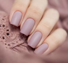 Trendy Matte Color Nail Art Ideas for the Season of Summer
