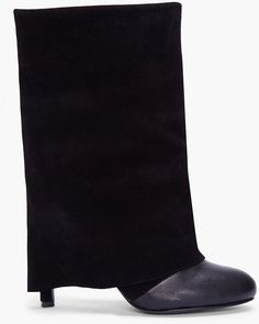 See By Chloé Fold Over Heel Boot