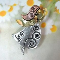 Brooch Silver - One Size