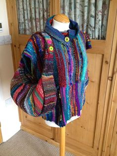 clothing from Saori weaver at The Saori Shed UK
