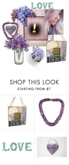 """Mimi Loves Lilacs"" by tol-n-tique on Polyvore featuring interior, interiors, interior design, home, home decor, interior decorating and NOVICA"