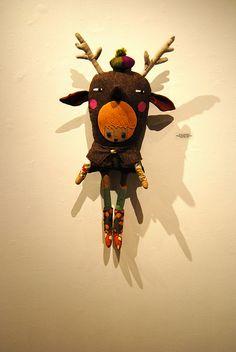 Deer girl by nichol-b, via Flickr