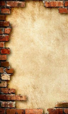 part brick frame Papel Vintage, Vintage Diy, Vintage Paper, Frame Background, Background Vintage, Textured Background, Brick Wall Background, Borders And Frames, Shabby Chic Kitchen