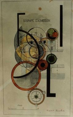 Francis Picabia, Soupape d'admission, 1917