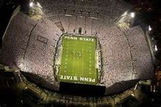White out at Penn State.