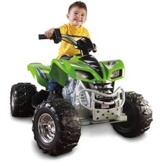 kids 4 wheeler atv quad battery powered electric jeep toy outdoor car truck