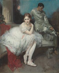 View The Play is Ended A ballerina and harlequin by Walter Ernest Webster on artnet. Browse upcoming and past auction lots by Walter Ernest Webster. Gil Elvgren, Art Through The Ages, Frederic, Oil Painters, Irish Painters, English Artists, Royal College Of Art, Beautiful Paintings, Female Art