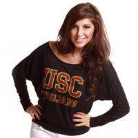 USC Trojans Women's Long Sleeve Dolman