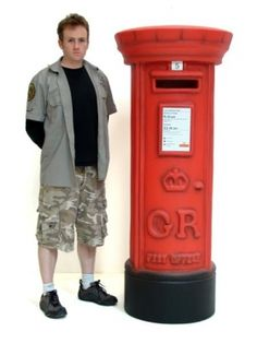 British Postbox Prop