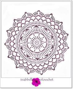 Esquema Patr N Mandala Crochet Ganchillo: Motivos Circulares Crochet Ideas – Florida Mesothelioma Lawyer Crochet Mandala Pattern, Crochet Doily Patterns, Crochet Chart, Crochet Squares, Thread Crochet, Diy Crochet, Crochet Stitches, Crochet Poncho, Crochet Ideas