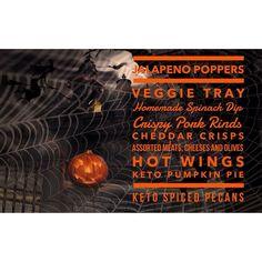 Keto friendly Halloween Menu Ideas   #Ketohalloween #ketoparties #ketomenu #ketosnacks #ketodesserts