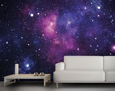 Paper Colorful Galaxy Inspired Wallpaper for your Home