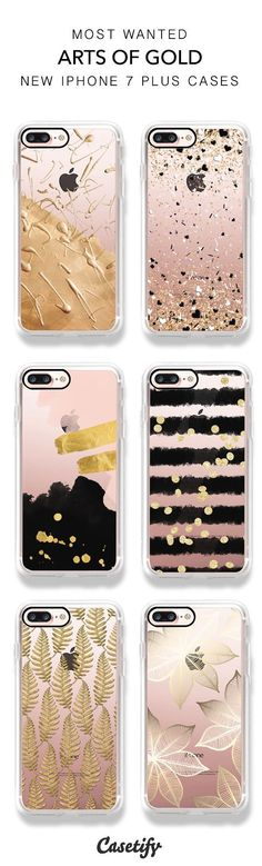 Best selling Gold and Bold iPhone 7 and iPhone 7 Plus cases. Shop the Art of Gold Collection here > https://www.casetify.com/artworks/TSOUNBkEYP #Iphone