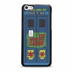 doctor who tardis scooby doo iPhone 5c case