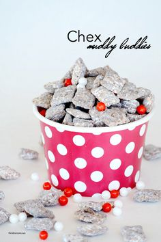 Muddy Buddies Recipe MichaelsMakers The Idea Room