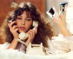 """Disco Dream Phone, this is Jane.""🚬💄✨ Jane Birkin in 'La moutarde me monte au nez', 1974 🎬 Claude Zidi Jane Birkin, Gainsbourg Birkin, Serge Gainsbourg, Lou Le Film, Kali Uchis, Non Plus Ultra, Vintage Telephone, Telephone Call, Vintage Phones"