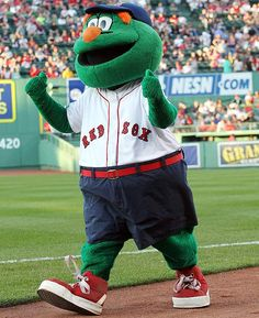 Wally The Green Monster - Boston Red Sox