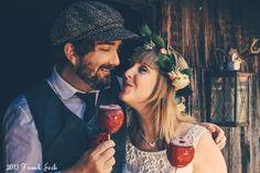 Vintage After-Wedding Shooting - FrauGlück und HerrLich