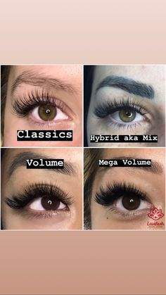 Lash extensions - Wimpernverlängerung - Eye Make up Makeup At Home, Glam Makeup, Makeup Cosmetics, Makeup Tips, Eye Makeup, Makeup Hacks, Makeup Trends, Eyelash Extensions Styles, Volume Lash Extensions