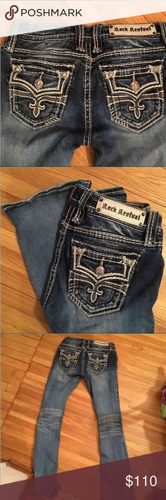 Rock Revival Avril boot Great condition Avril boot 27 waist 32 inseam Rock Revival Jeans Boot Cut