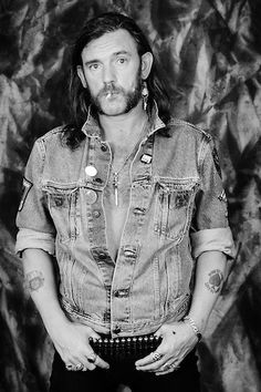 Lemmy Kilmister of Motörhead poses for a portrait at L'Amour on October 29, 1992 in the Brooklyn borough of New York City.
