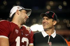 """""""Andrew Luck recommended Kaepernick to Jim Harbaugh"""" NBC Sports (January 24, 2013)"""