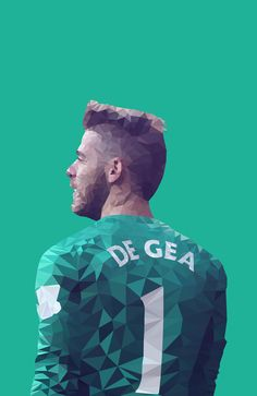 """In another country, at another club, the fans would not be the same as at Manchester United. They are some of the best in the world, it was unbelievable."" - David De Gea ""Design available on Society6..."