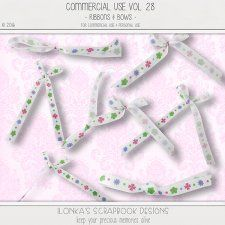 Commercial Use Vol 28 (Ribbons) by Ilonkas Scrapbook Designs #CUdigitals cudigitals.comcu commercialdigitalscrapscrapbookgraphics
