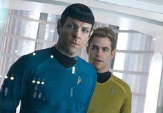 Zachary Quinto e Chris Pine in Into Darkness - #StarTrek, in Blu-ray 3D, Blu-ray e DVD dal 25 settembre