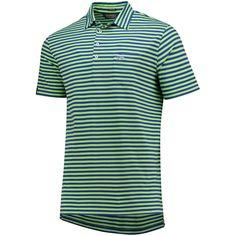 Men s 2018 U.S. Open Polo Ralph Lauren Green Striped Stretch Vintage Lisle  Polo b5376f04bf2a0