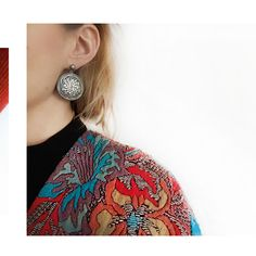 Unique handcrafted earrings from NEPAL collection by Anna Orska.