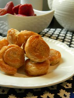 Cinnamon-Sugar Puff Pastry Wheels Recipe: http://bakersdaughter.typepad.com/the_bakers_daughter/2011/06/sugared-puff-pastry-wheels.html