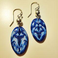 Polymer clay earrings (natasha beads)