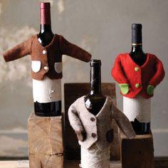 Cute little wine sweaters