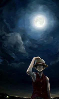 • LuffY ⭐️ Night ~ Luffy Monkey D. ~ ⚓️ One Piece ⚓️