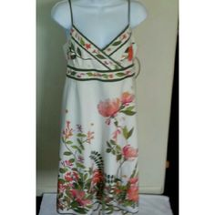 J.  Crew Floral Sun Dress Stunning  J. Crew sun dress evokes images of old fashioned garden parties. No signs of wear on this item. J. Crew Dresses