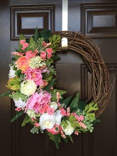 Hey, I found this really awesome Etsy listing at https://www.etsy.com/listing/264124117/easter-wreath-spring-wreath-mothers-day