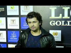 Sonu Nigam at Lions Gold Awards Sonu Nigam, White Leaf, Lions, Singers, Bollywood, Awards, Music, Youtube, Gold