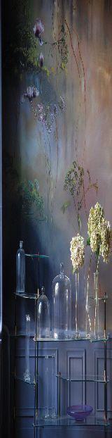 CLAIRE BASLER Peintures Murales Salle à manger 06