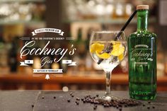 Cockney's Gin, Finest Premium Gin, bottled in friendship