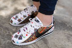 Nike Cortez Shoes, Snicker Shoes, Design Nike, Nike Air Max 87, Asics Tiger, Nike Headbands, Nike Wedges, Nike Kicks, Shoes
