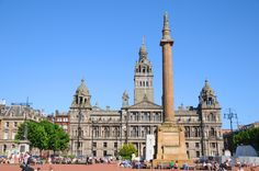 George Square, Glasgow,UK